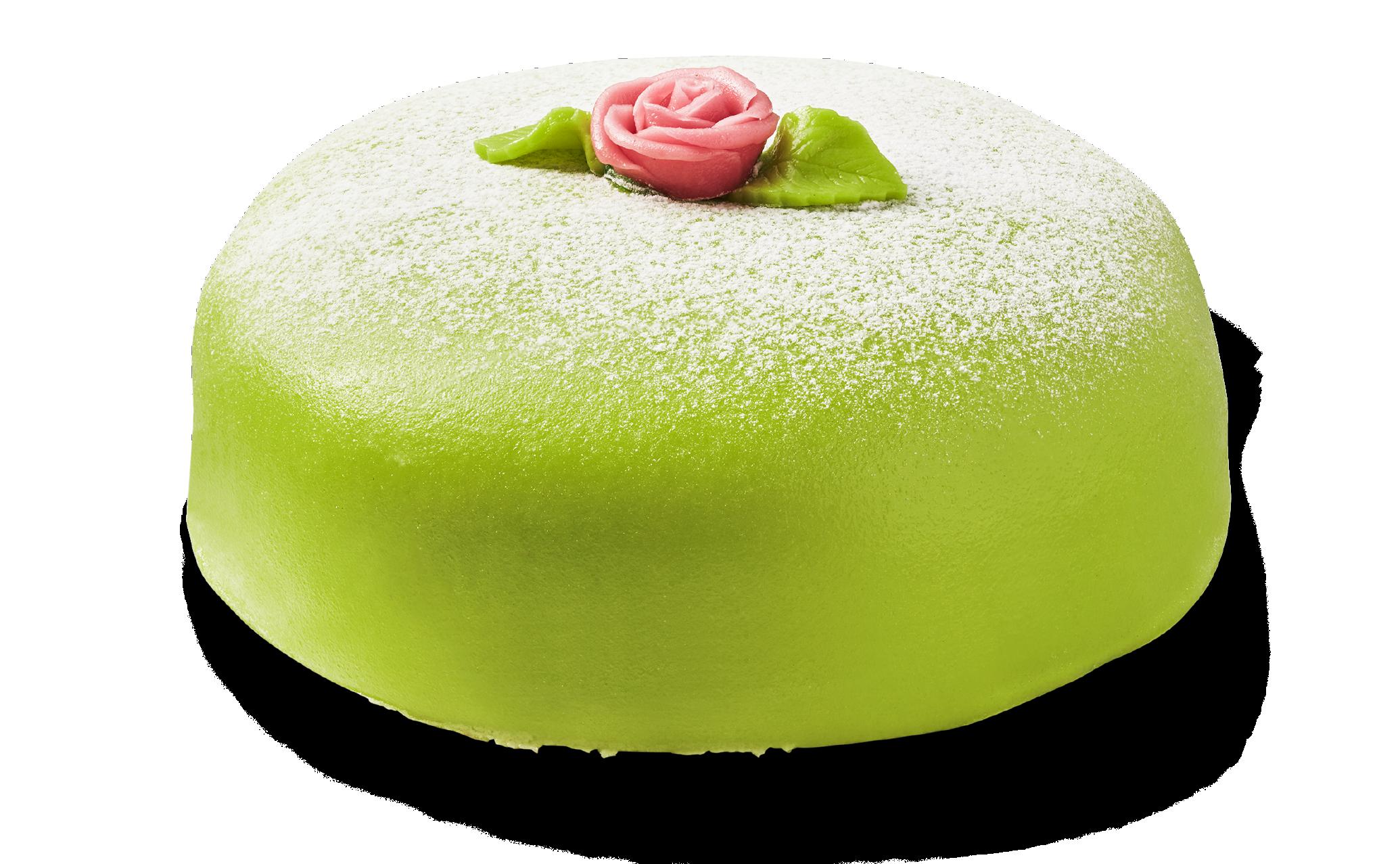 Prinsesstårta grön 8 bitar