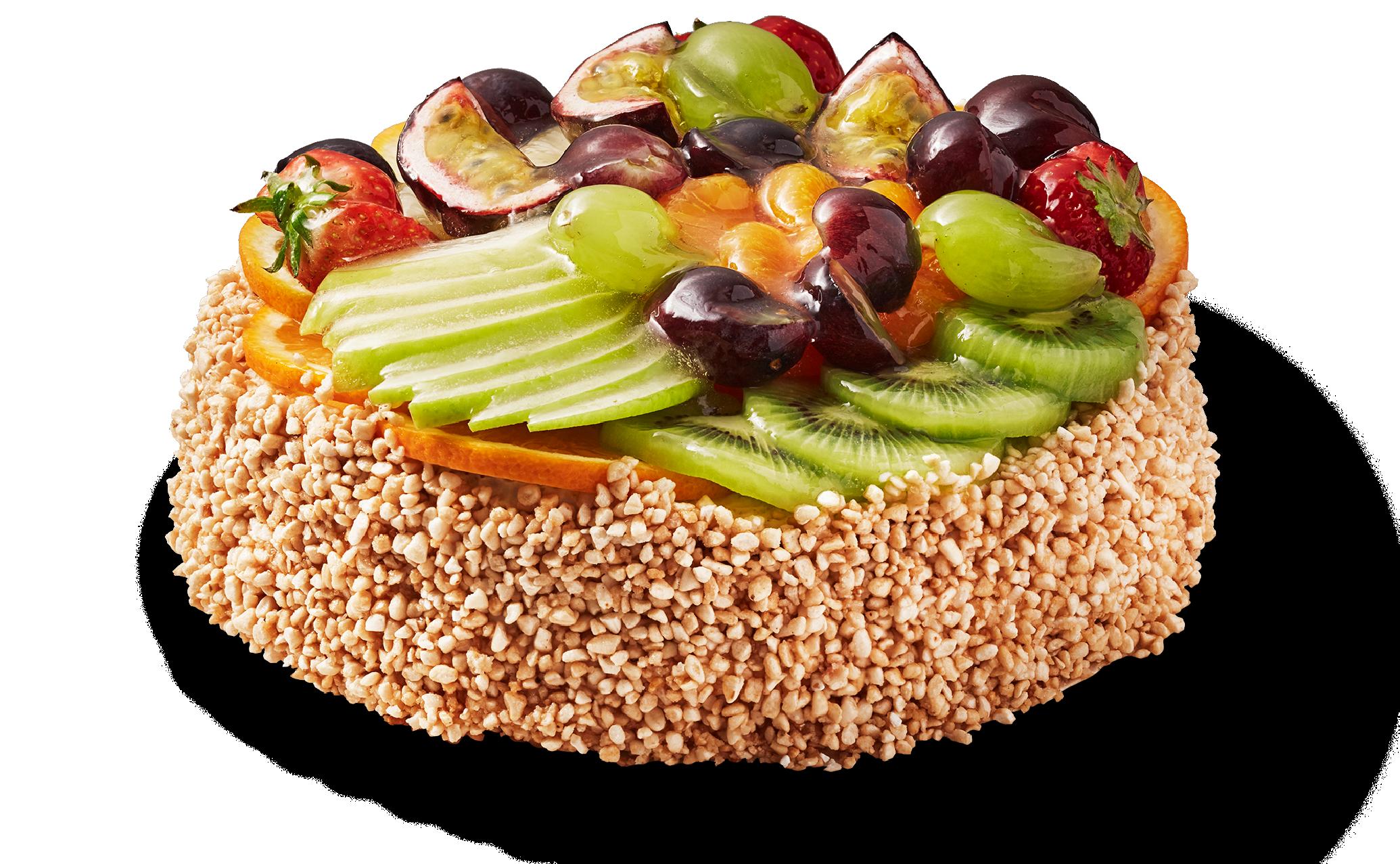 Frukttårta 8 bitar