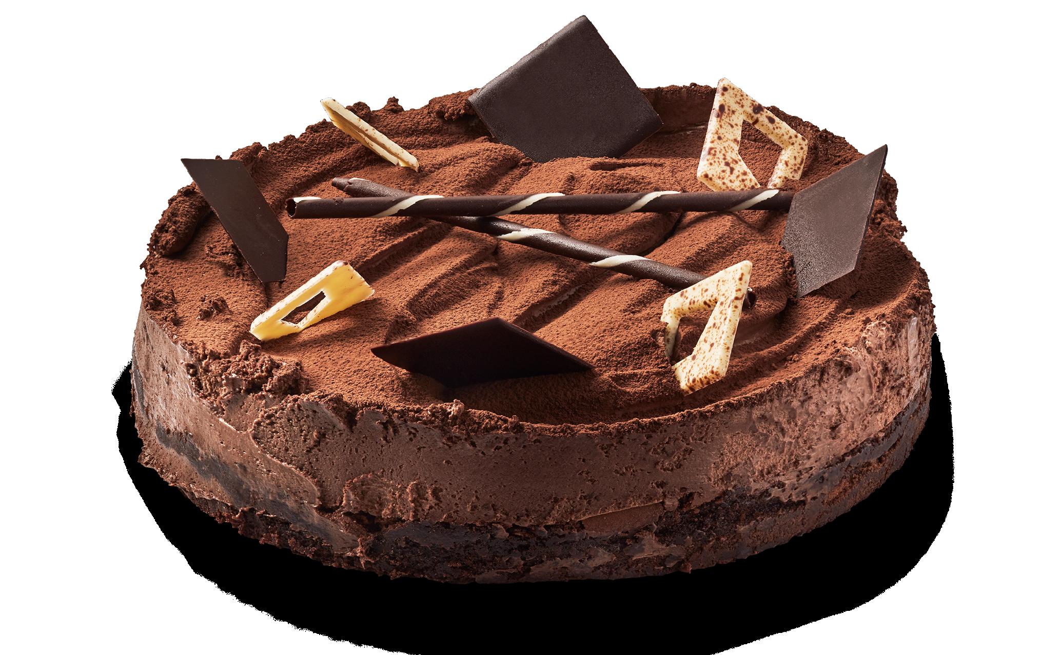 Belgisk chokladtårta 8 bitar