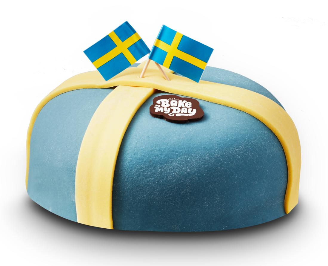 5757 Sverigetårta 8 bitar