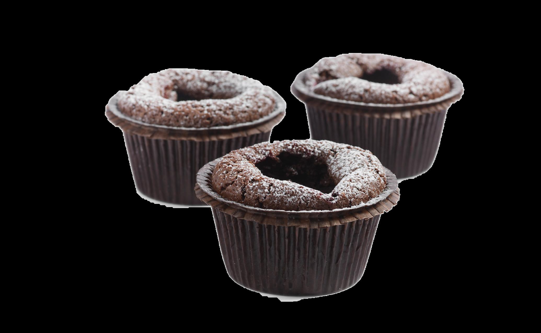 Browniemuffins 4-pack (glutenfri)