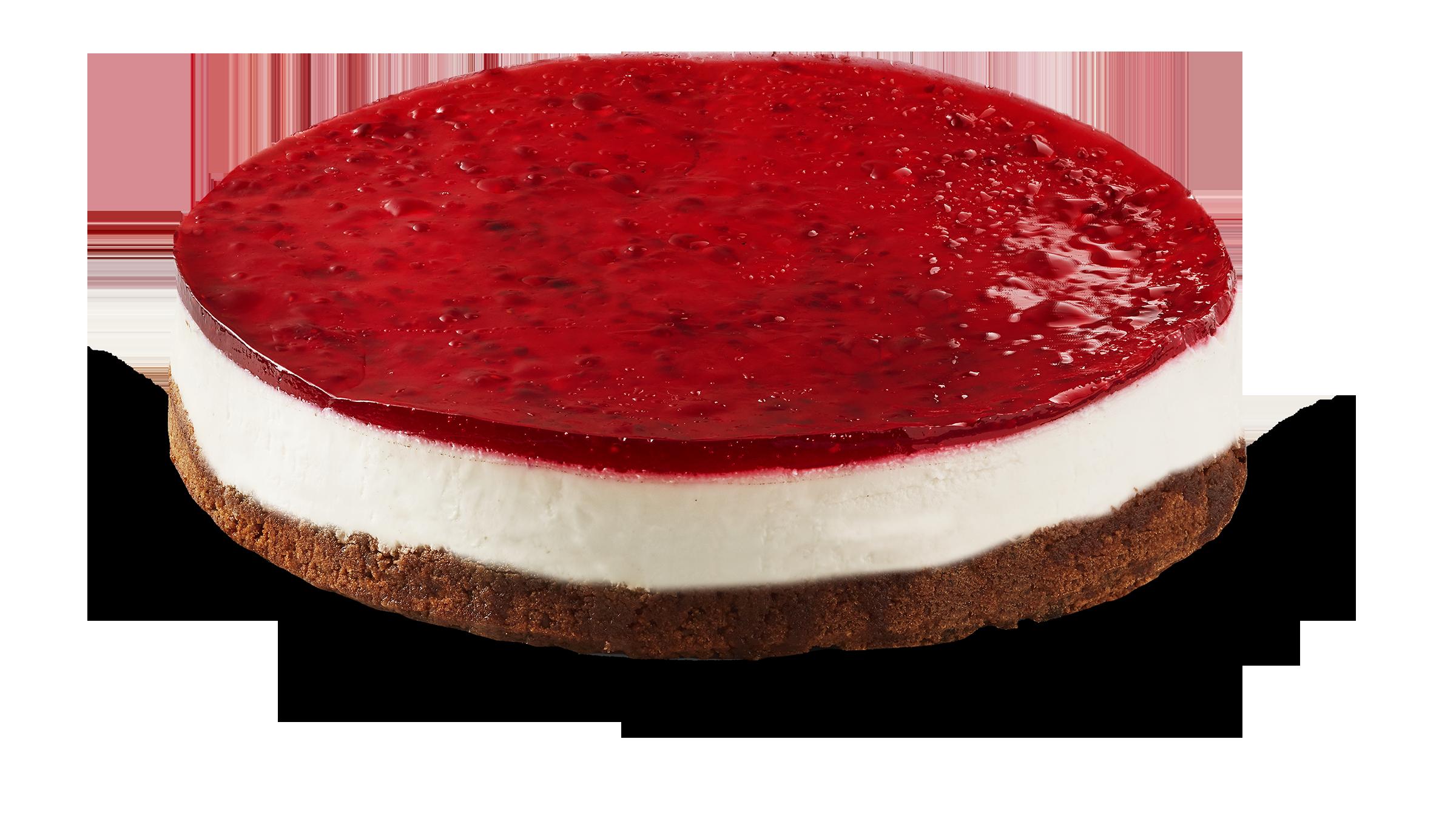 Gluten- och laktosfri Cheesecake hallon 12 bit